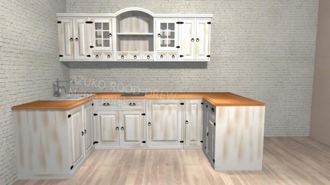 meble kuchenne drewniane sosnowe najlepszy projekt domu