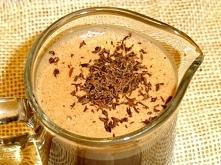 Ciepły koktajl czekoladowy....