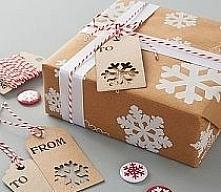 Zimowy styl w pakowaniu prezentów