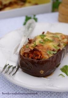 środa, 4 września 2013 Bakłażan faszerowany mięsem Faszerowane warzywa to szy...
