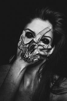 Scary girl.
