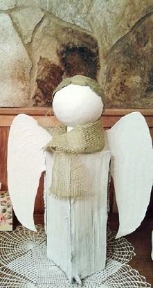 Własnoręcznie zrobiony anio...