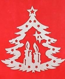 zawieszka,ozdoba na święta ,boże narodzenie, diy, decoupage na rena24.pl