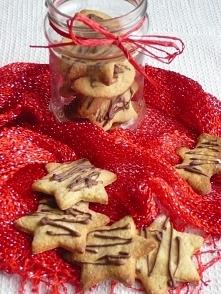 Świąteczne ciasteczka z chałwą