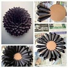 Diy- kwiat z papieru