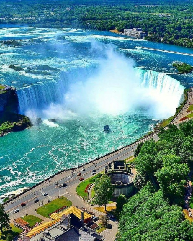 Wodospad Niagara.