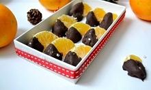 Jadalne prezenty bez cukru. Mandarynki w czekoladzie z solą. Przepis po klikn...