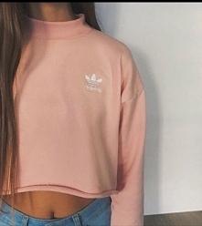 krótka bluza adidas ze stójką