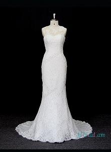 syrenka suknia ślubna