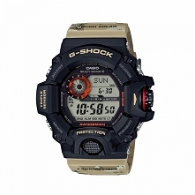 Męski zegarek Casio GW-9400DCJ-1ER Rangeman G-shock wielofunkcyjny z termometrem, barometrem, wysokościomierzem i wiele więcej Możliwość zakupu, wszystkei informacje w linku w k...