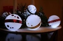 Bombki Led - idealna dekoracja w 5 minut na Święta. Sprawdź!