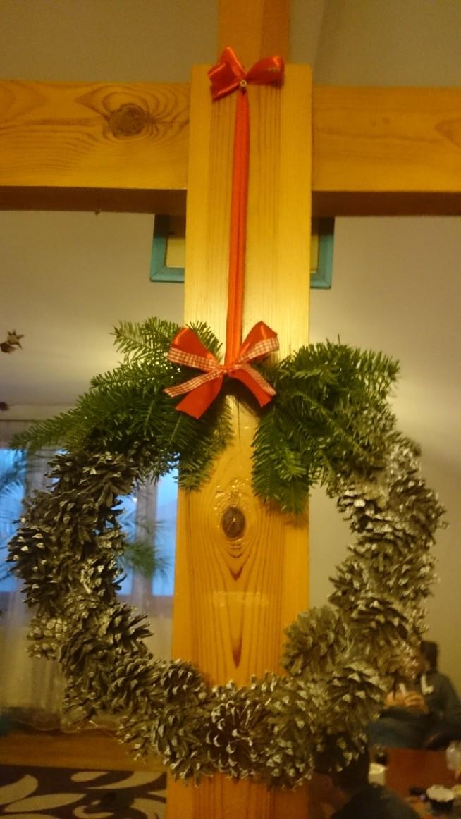 świąteczny wieniec DIY #diy#christmas#święta#wieniecświąreczny