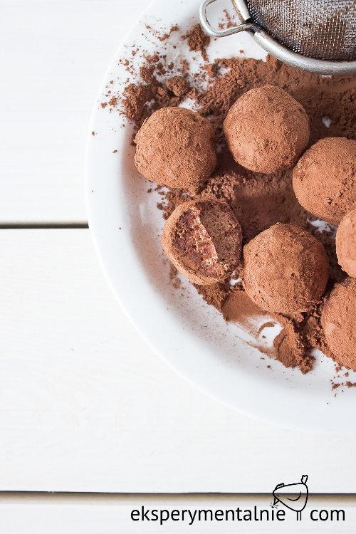Domowe czekoladki - prezent na szybko - chocolate truffles - gluten free