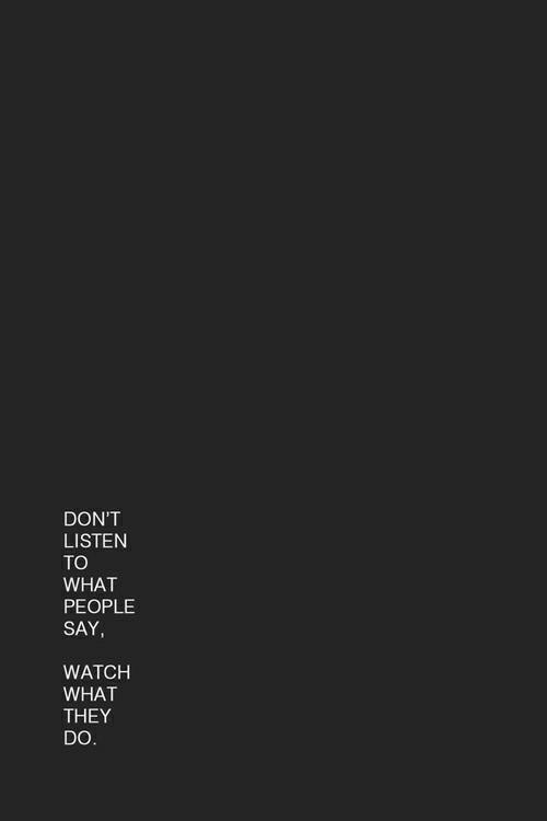 Nie słuchaj, patrz