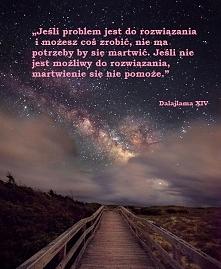Jeśli problem jest do rozwiązania i możesz coś zrobić, nie ma potrzeby by się...
