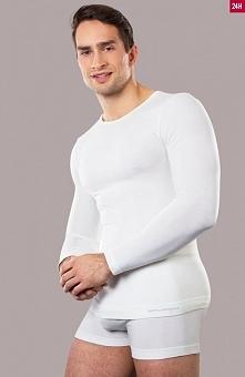 Brubeck LS11600 koszulka Koszulka męska z długim rękawem z kolekcji Comfort W...