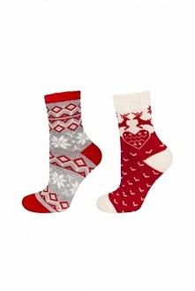 Nie ma to jak ciepłe i stylowe skarpetki ;) W dodatku z motywem świątecznym (...