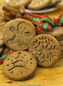Miodowo - korzenne ciasteczka bez glutenu  maniapieczenia.com