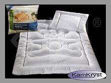 Kołdra dziecięca w komplecie z poduszką - 100x135 + 40x60 - antyalergiczna kołderka dla niemowląt AMW