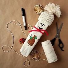 Kreatywne pakowanie prezentów – pomysł dla dziecka - bałwanek [23 sposoby po kliknięciu w zdjęcie]