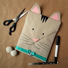 Kreatywne pakowanie prezentów – pomysł dla dziecka - kotek [23 sposoby po kli...