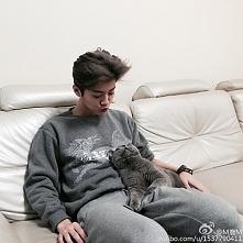 LuHan&Cat :D ♥