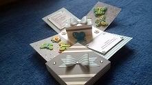 wykonam na zamówienie pudełko na CHrzest Święty dla chłopca. Mój e mail: milena.szubinska@o2.pl polecam ;)