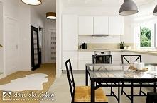 Projekt domu Agatka II styl, aranżacja wnętrz - kuchnia.