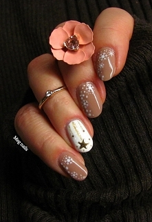 snow nude nails
