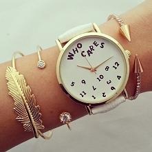 zegarek też jest cudny! z odpowiednimi dodatkami w postaci bransoletek. nie d...