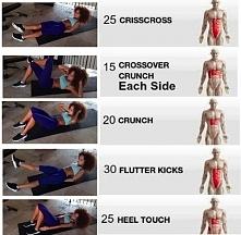 A na brzuch takie ćwiczenia :)