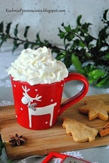 piernikowa caffe latte z domowym syropem