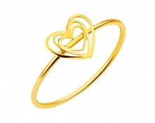 Na walentynki :) pierścionek Apart.