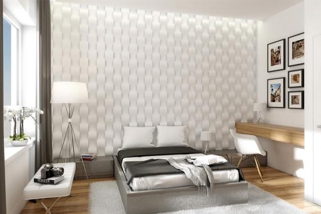 Podświetlone Panele 3d W Sypialni Na Dom I Wnętrza