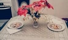 Wystrój świąteczny stołu