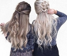 warkocze włosy fryzury