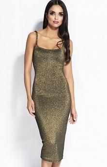 Dursi Charme sukienka złota...