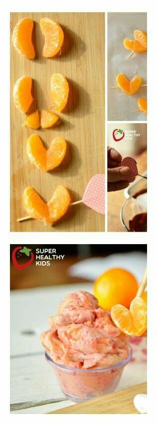 mandarynkowe serducho