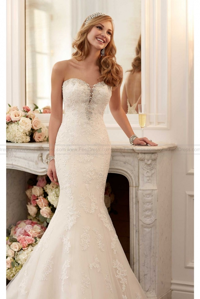 Stella York Romantic Wedding Dress Style 6119