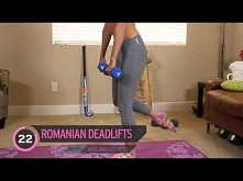 Ćwiczenia na ttłek - Miranda Kerr Butt Workout Victoria Secret Series
