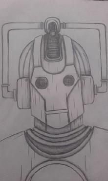 Cyberman z Doctor Who