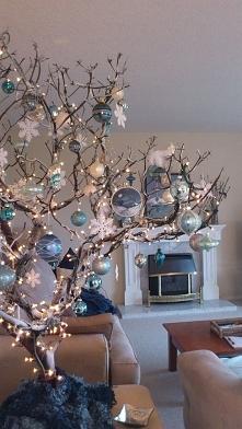 Piękna dekoracja świąteczna