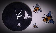 Zegar dla pszczelarza.  Wyjątkowy prezent wykonany na indywidualne zamówienie. :)