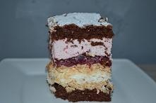 Ciasto z wiśniami i czekola...