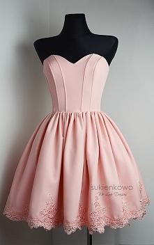 Sweet pink dress sukienkowo.com