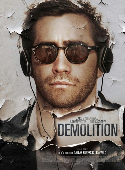 Demolition/Destrukcja Davis to mężczyzna, który stracił żonę w wypadku samochodowym. W szpitalu, kiedy chce kupić cukierki M&M's w automacie, niestety nie wypadają mu one. W związku z tym pisze listy z zażaleniami do firmy odpowiedzialnej za owy automat, opisując w nich swoją historię i przemyślenia. W końcu znajduje sposób na uporanie się z samym sobą w dosyć nietypowy sposób.  Film jest naprawdę godny polecenia. Dawno nie widziałam lepszego dramatu z wątkami komediowymi.
