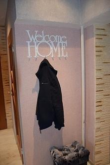 Welcome Home - wieszak na ubrania art-steel.pl