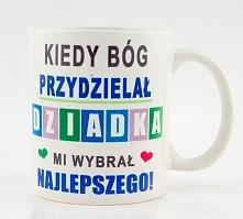 Kubek na dzień dziadka do zamówienia na nadruko.pl