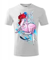 Nieszablonowa koszulka Fuck KFC. Mamy przyjemność przedstawić unikalną koszulkę, wykonaną z najwyższej jakości bawełny o gramaturze 190g/m2, która jest lekka i oddychająca! Kosz...