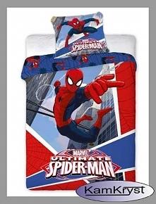 Nowy wzór pościeli z kolekcji pościeli dziecięcych Spiderman firmy Faro